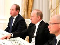 """Накануне вечером президент Владимир Путин встретился с ними, поблагодарил их за работу и назвал ротацию глав регионов """"естественным процессом"""""""