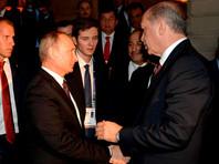 Владимир Путин и Реджеп Тайип Эрдоган, 10 октября 2016 года