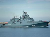 """Ракетный фрегат """"Адмирал Григорович"""" снова отправился к берегам Сирии"""