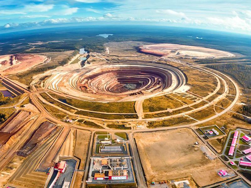 В Архангельской области на месторождении имени Гриба добыли крупнейший в Европе алмаз