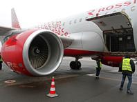В Ростове-на-Дону экстренно сел самолет с треснувшим лобовым стеклом