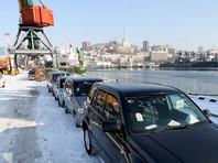 Жители Владивостока собрались на протест против обязательной установки ГЛОНАСС на подержанные иномарки