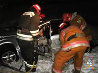 В поселке Пробуждение автобус столкнулся с легковушкой: четверо погибших