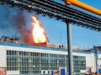Площадь пожара составила примерно 500 квадратных метров