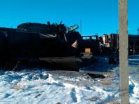 В Башкирии столкнулись два грузовых поезда: три человека погибли