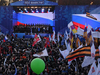Путин не приедет на митинг-концерт на Воробьевых горах по случаю третьей годовщины присоединения Крыма