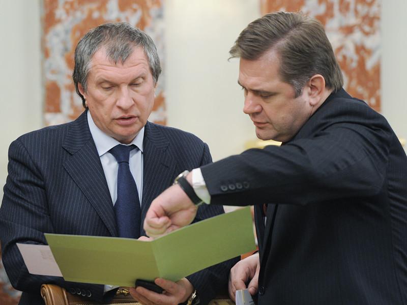 Игорь Сечин и Сергей Шматко
