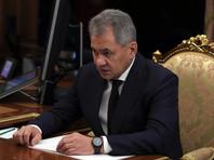 Шойгу доложил Путину о взятии Пальмиры