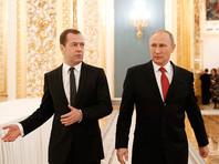 """Песков отказался отвечать на вопрос об отношении Путина к Медведеву после фильма """"Он вам не Димон"""""""