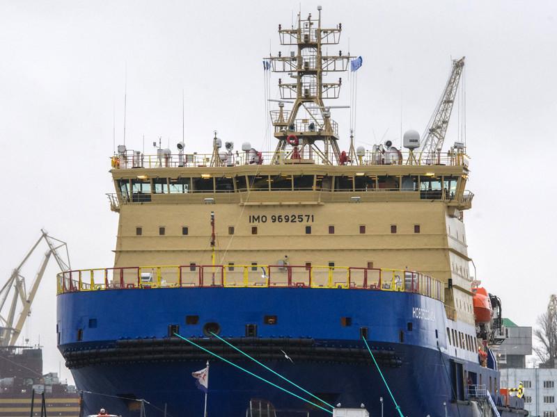 """Новейший дизель-электрический ледокол """"Новороссийск"""" построен с применением передовых технологий и способен преодолевать льды толщиной до 1,5 метра"""