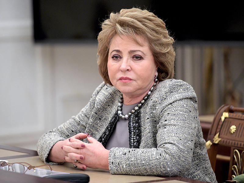 """""""Полагаю, что такие изменения надо принять как можно раньше, чтобы ими можно было воспользоваться уже в эту осеннюю выборную кампанию, в Единый день голосования, ну и, конечно, на президентских выборах"""", - сказала Матвиенко"""