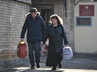 Осужденная за SMS в Грузию Оксана Севастиди вышла на свободу
