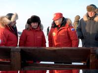 Путин оценил работу по очистке Арктике от мусора на архипелаге Земля Франца-Иосифа
