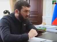 """Председатель парламента Чечни Магомед Даудов поблагодарил Занзулаеву за то, что она """"приняла приглашение"""" встретиться с ним. Это """"долг депутатов"""", разбираться в проблемах людей, говорит он"""