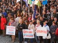 """Россияне к трехлетию присоединения Крыма уверились в том, что он - """"наш"""", и это принесло стране пользу, показал опрос ВЦИОМ"""