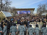 Арестованные в Москве за участие в митинге против коррупции пожаловались на угрозы