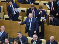 После эмоционального выступления лидера ЛДПР либерал-демократы вышли из зала заседаний, это был их первый демарш в седьмом парламентском созыве
