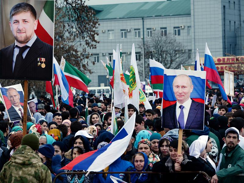 Грозный, 18 марта 2015 года