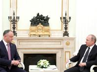 """""""Мое же мне привезли"""": Путин поблагодарил Додона за привезенное из Молдавии вино"""