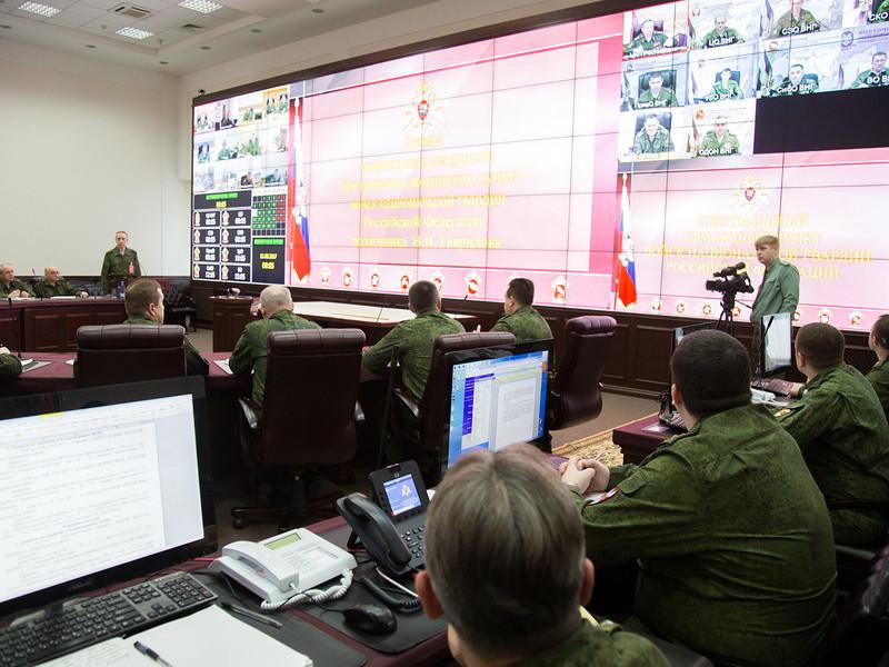 Стартовала внезапная проверка боевой готовности войск Росгвардии, сообщается на сайте ведомства