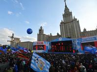 Участникам платной массовки на фестивале в честь присоединения Крыма выдали по 400 рублей