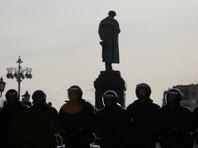 В Москве на реставрацию закрыт памятник Пушкину - центр протестной акции 26 марта