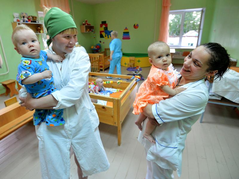 Дом ребенка на территории исправительной женской колонии № 5, Челябинск, май 2015 года