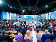 В Кремле объявили о переносе прямой линии президента