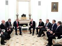 Нетаньяху на встрече с Путиным заявил, что Израиль против присутствия войск Ирана в Сирии
