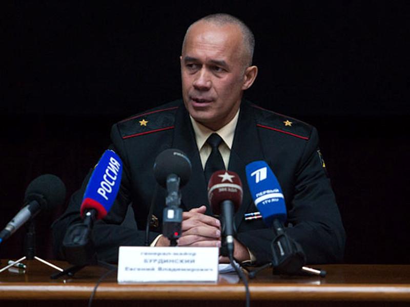 Начальника главного организационно-мобилизационного управления Генштаба ВС России Евгений Бурдинский