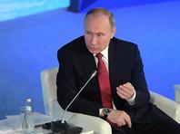 """""""Я лично выступаю за то, чтобы вопросы борьбы с коррупцией были в центре внимания общественности. Единственное: я считаю неправильным, что какие-то политические цели используют это для раскрутки на политической арене в преддверии выборов"""", - заявил Путин"""