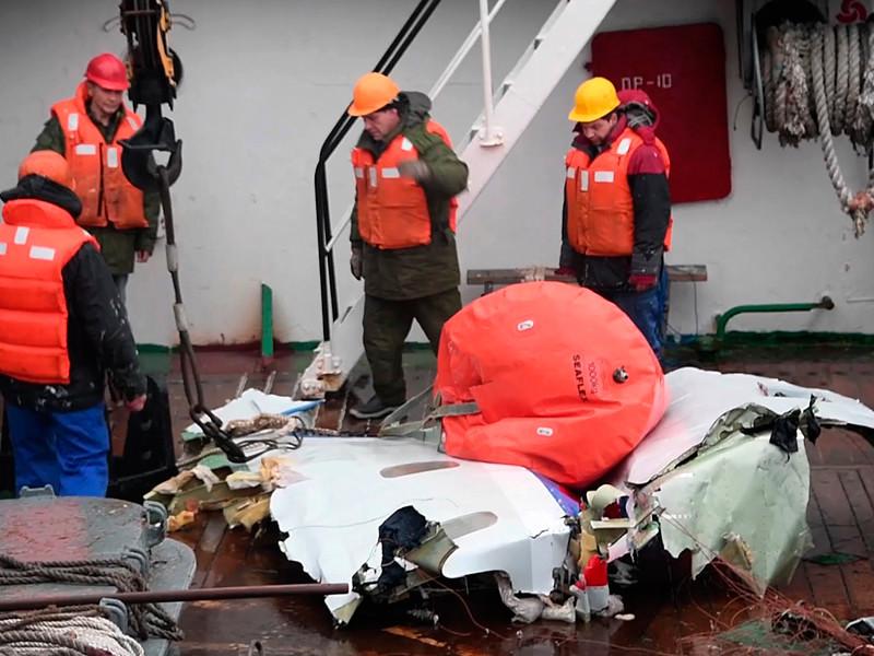 """В Генпрокуратуре назвали """"догадками"""" свежие версии о причинах катастрофы Ту-154 над Черным морем"""