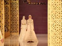 Дочь Кадырова помпезно представила в Грозном свою коллекцию женской одежды (ВИДЕО)