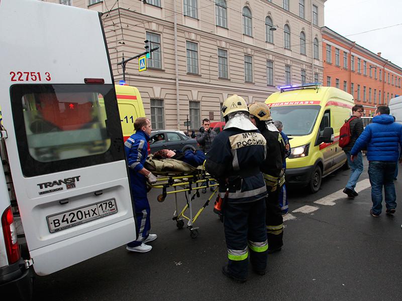Состояние одного из пострадавших при теракте в метро Санкт-Петербурга ухудшилось до крайне тяжелого