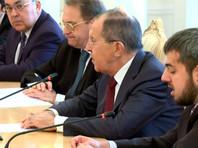 Сергей Лавров провел переговоры с главой МИД Катара Мухаммедом бен Абдель Рахманом Аль Тани
