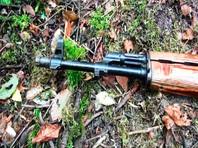 """Согласно сообщению информационного центра, которое цитирует ТАСС, """"на месте боестолкновения обнаружены автомат, боеприпасы к нему, компоненты для изготовления самодельного взрывного устройства"""""""
