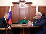 Губернатор Хакасии доложил Путину об отсутствии проблем с жильем для погорельцев на фоне голодовки строителей