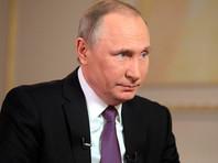 Владимир Путин, 12 апреля 2017 года