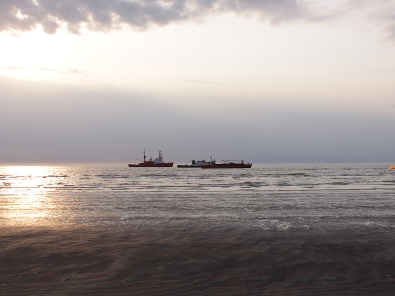 """В Черном море потерпело крушение судно под флагом Панамы """"Герои Арсенала"""""""