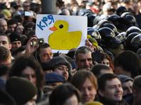 """Саратовского студента оштрафовали на 10 тысяч рублей за участие в митинге """"Он нам не Димон"""""""