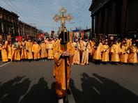 РПЦ сообщила о 8 тысячах участников детского крестного хода вокруг Исаакия