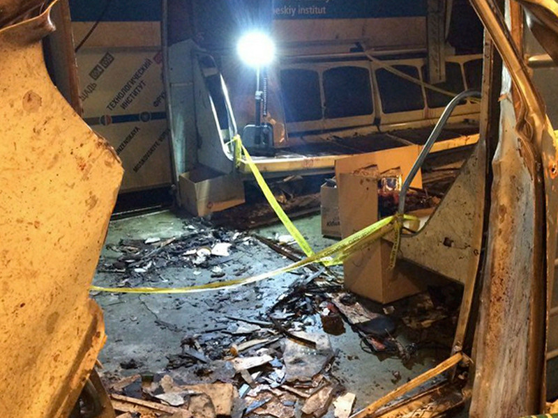 Заказчик теракта в метро Санкт-Петербурга установлен, сообщил глава ФСБ России Александр Бортников