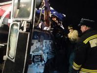 Под Рязанью автобус лоб в лоб столкнулся с грузовиком: двое погибших, более 30 пострадавших