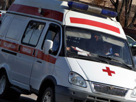 В Петербурге автомобиль насмерть сбил двоих прохожих на тротуаре