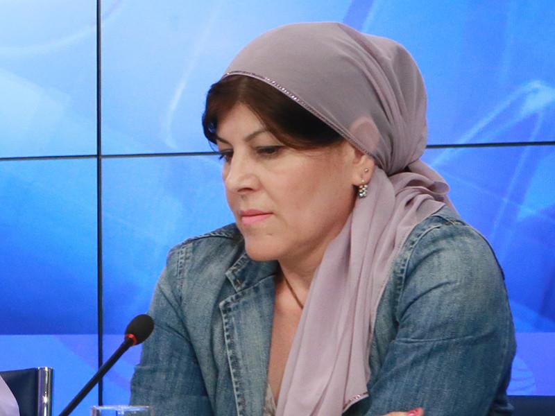 Чеченская правозащитница Хеда Саратова