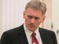 Песков опроверг, что ФСО не пустила Путина в зону взрывов