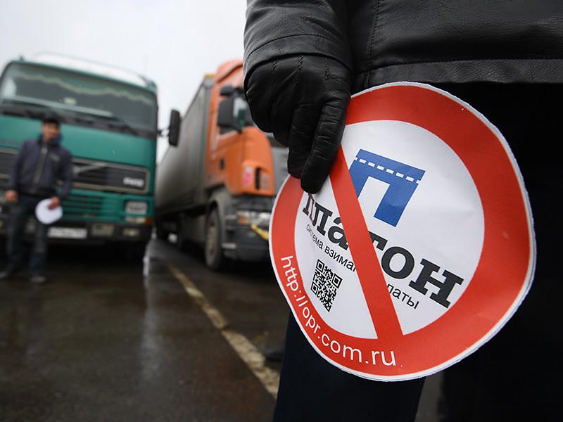 В Волгограде бизнесмен с пистолетом попытался разогнать протестную акцию дальнобойщиков