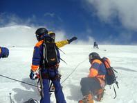 Двое гидов альпинистов погибли при восхождении на Эльбрус