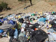 В Крыму мусор выгрузили под двери двух  чиновников, игнорирующих свалки. Там открывается курортный сезон