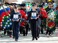 В Астрахани похоронили убитых исламистами полицейских